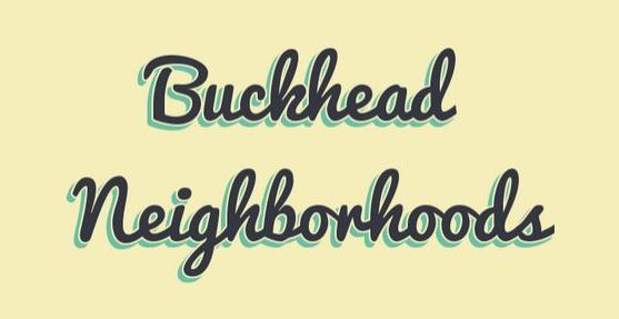 Atlanta GA Buckhead Neighborhoods