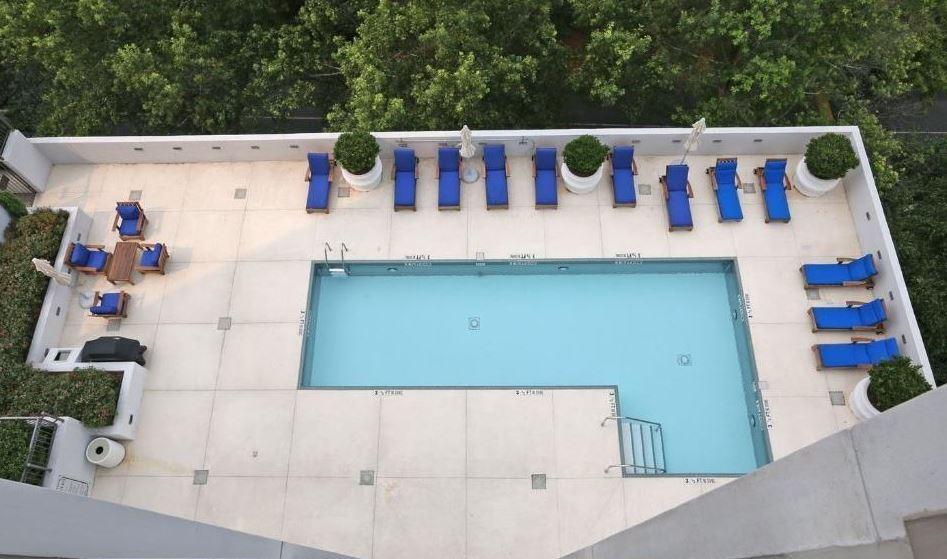 Swimming Pool Amenities 2828 Peachtree Condo